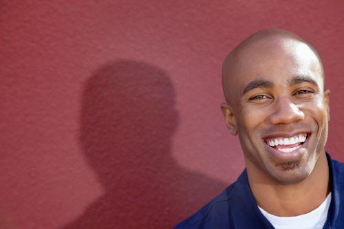 35 year old man smiling