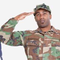 united states marine saluting